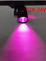 Светодиодный трековый фитосветильник SL-4003F 20W 12-24V DC (full spectrum led) черный Код.59580