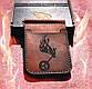 Кожаный кошелек - держатель ручной работы, фото 3