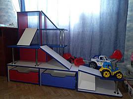 Детская игровая стенка Паркинг Илья Муромец. W331
