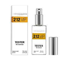 Tester женская туалетная вода Carolina Herrera 212 VIP 60 ml ОАЭ (реплика)