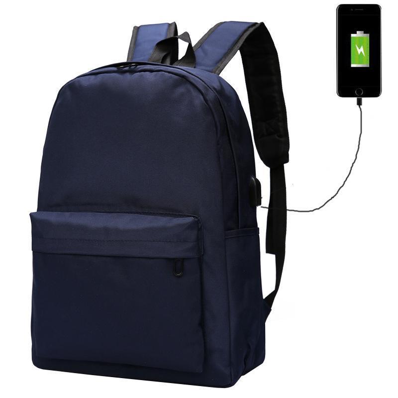 Мужской рюкзак Augur USB Blue, синий