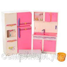 Кукольный домик с мебелью. Размер 81х82х40.5 см., фото 3