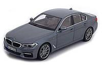 Оригинальная модель автомобиля BMW 530i Limousine (G30), 1:18 Scale, Bluestone Metallic (80432413788)