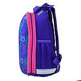 Рюкзак каркасний H-12-1 Kotomaniya blue, фото 2