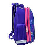 Рюкзак каркасний H-12-1 Kotomaniya blue, фото 3