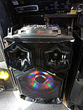Стерео колонки Wimpex 12 дюймів, 2х200W, Bluetooth, мікрофон, пульт Пара, фото 6