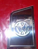 Хром накладка на лючок бака для Volkswagen Transporter T5, Фольксваген Транспортер Т5