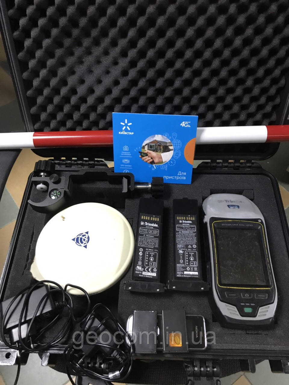 GNSS ПРИЕМНИК TRIMBLE GEOEXPLORER 6000
