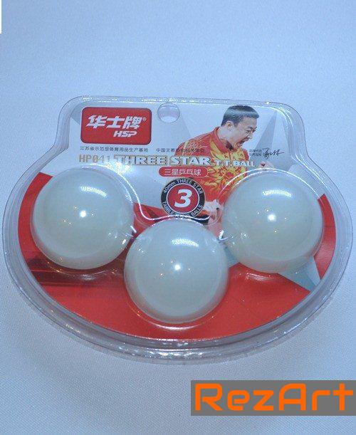 Шарики для настольного тенниса 3-STAR.041