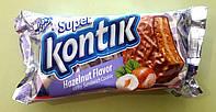 Печенье-сендвич Супер Контик молочный, фундук 100 г