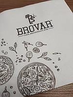 Салфетки с логотипом от 50 000 шт., фото 1