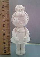 Гипсовая фигурка для раскрашивания статуэтка. Гіпсова фігурка для розмальовування. Кукла 1