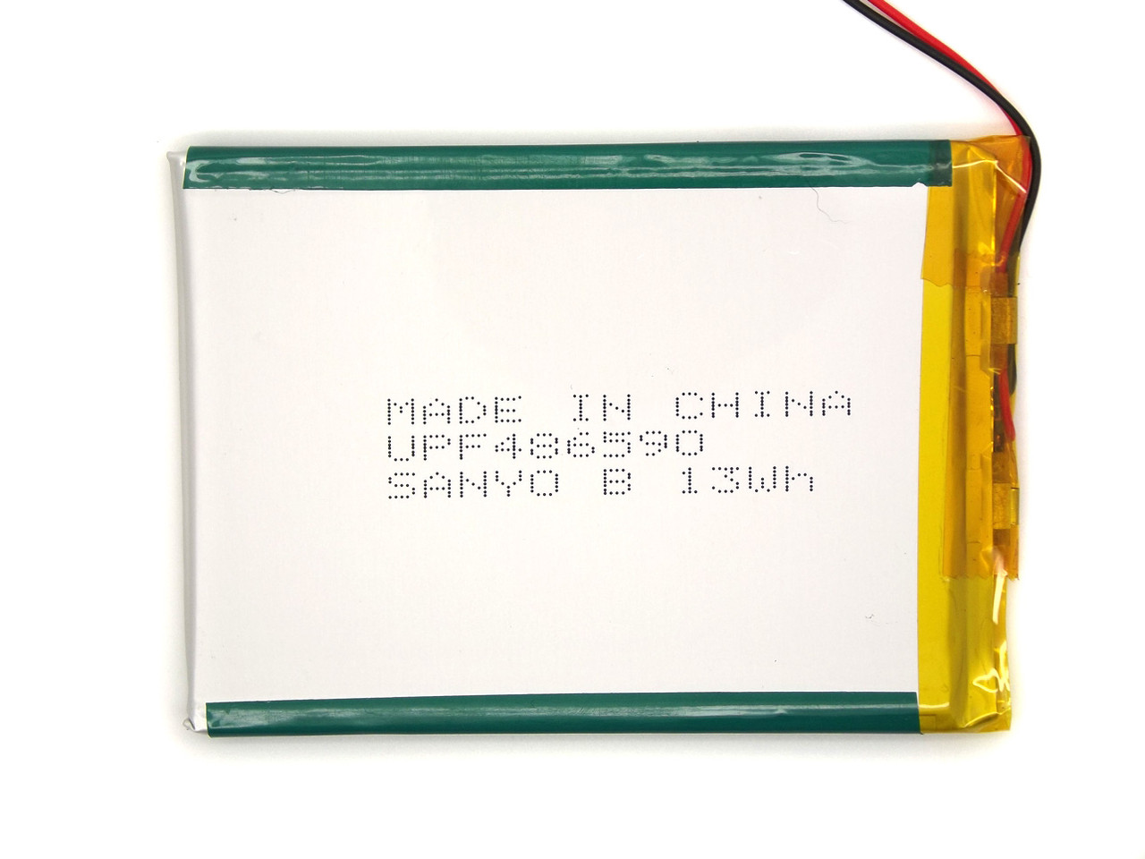 3550mAh 3.7v 456490 НОВЫЙ SANYO Аккумулятор для планшета