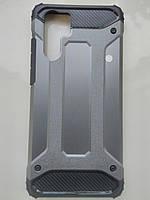 Чехол трансформер  противоударный Huawei P30 Pro ( серый)