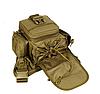 Тактическая сумка мужская через плечо, штурмовая, военная, армейская. рюкзак Oxford 600D зеленая, фото 4