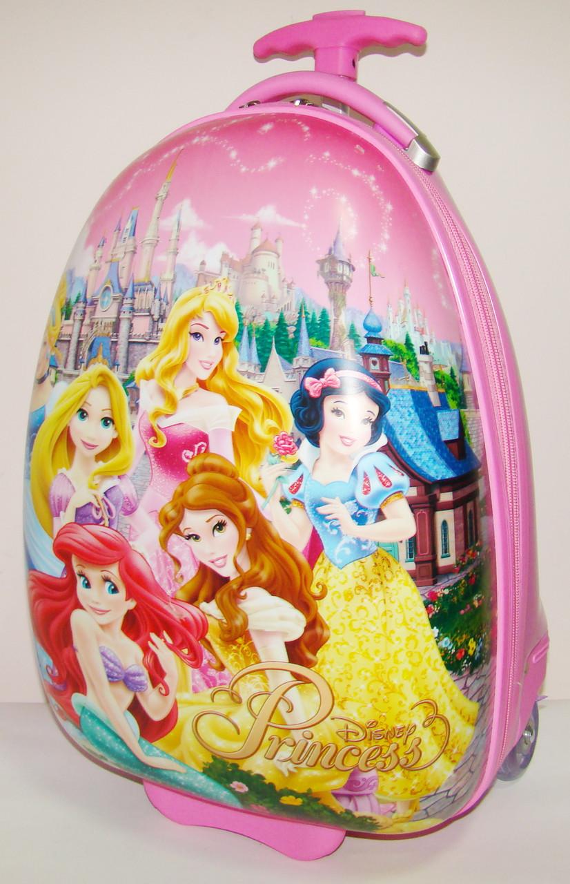 """Детский чемодан на колесах """"Принцессы"""" 47*31*25,5 см"""