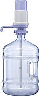 Бутыль с помпой механической А20 на 19 л-поликарбонат без ручки