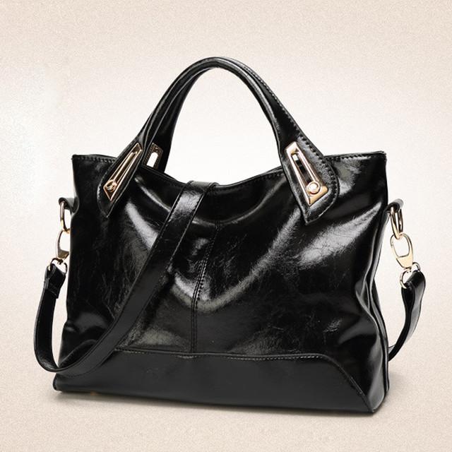 Стильная женская сумка Handheld L-182 черная