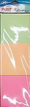 Бумага для заметок 3 ЦВЕТА, с липким слоем, 50 листов, 7,6*7,6 см