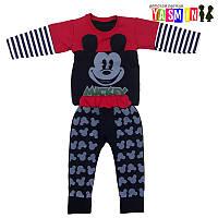 """Костюм для мальчиков """"Mickey"""" (двухнитка)"""