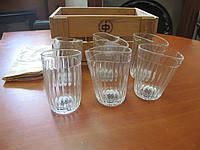 """Набор стаканов """"Пьяные стаканы. Граненые"""", фото 1"""
