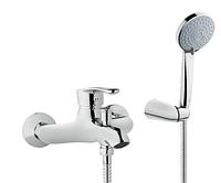 Смеситель для ванны Invena Avila EXE, хром