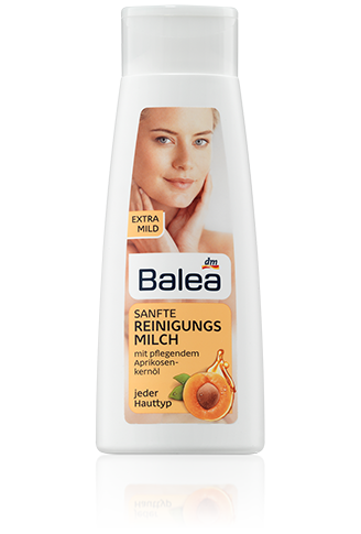 Balea мягкое молочко с абрикосовыми косточками Sanfte Reinigungsmilch 200ml