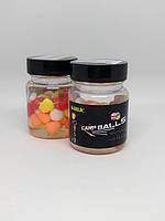 Плавающая силиконовая кукуруза CarpBalls в дипе, 40шт/уп. Garlic