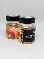 Плавающая силиконовая кукуруза CarpBalls в дипе, 40шт/уп. Honey
