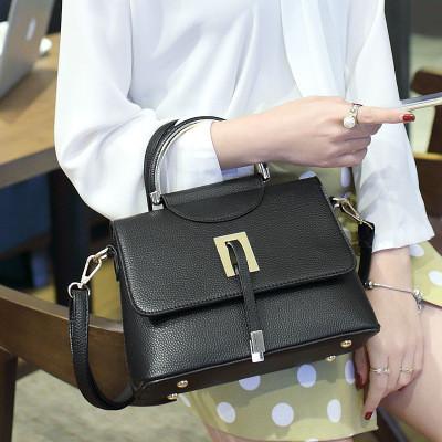 2937a66d65fd Купить Женская сумка стильная небольшая L-16080 черная в Украине