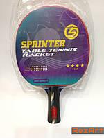 """Ракетка для настольного тенниса """"Sprinter""""S-403. Ракетка для настільного тенісу"""