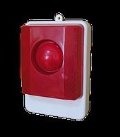 Оповещатель светозвуковой 12 В внутренней установки, взрывозащищенный