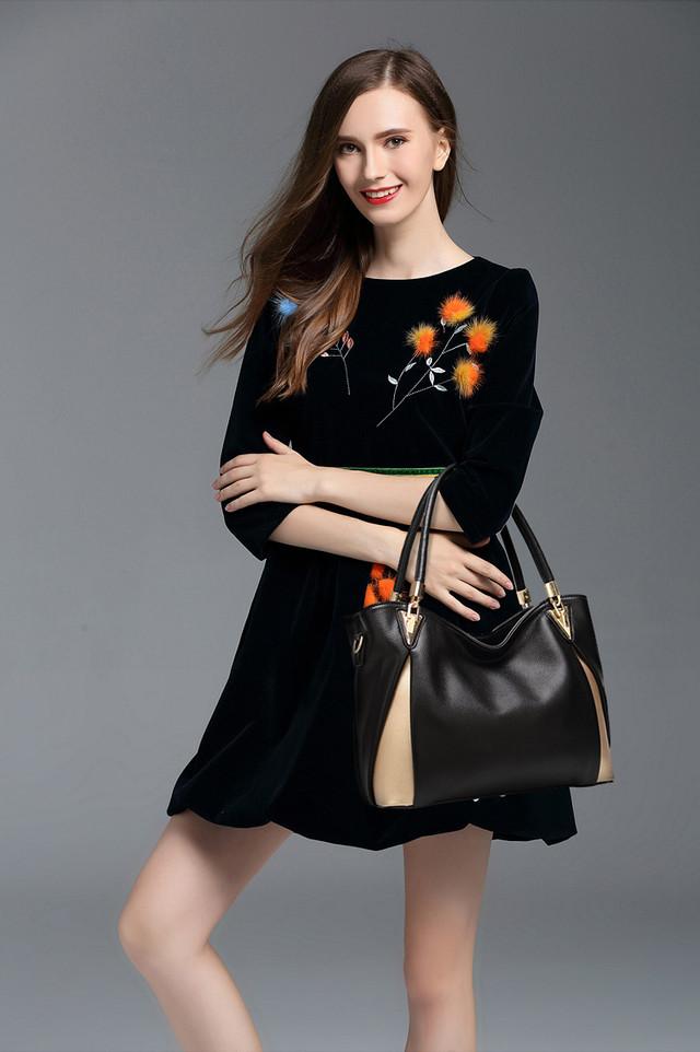 Стильная женская сумка тоут L-16222