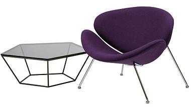 Кресло-лаунж Foster фиолетовое TM Concepto, фото 3