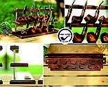 Универсальная подставка под 10 трубок из ясеня, фото 9