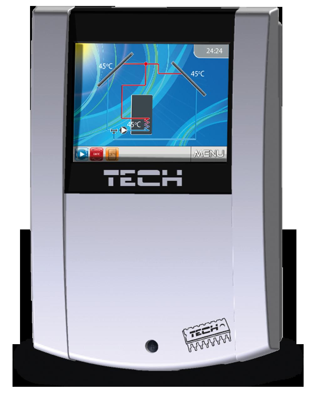 Контроллер для гелиосистем TECH EU-460