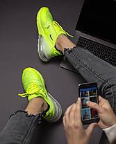 """Кроссовки Nike Air Max 270 """"Желтые\Зеленые"""", фото 2"""