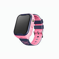 "Дитячий розумний годинник SUNROZ KT11 смарт-годинник 1.4"" GPS Рожевий (SUN4358)"
