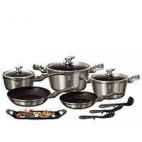 Большой набор посуды Berlinger Haus BH 1697 12 предметов для приготовления пищи