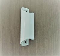 """Ручка """"Ракушка"""" алюминиевая для балконной двери ПВХ (белая)"""