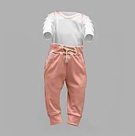 Боди-лодочка с длинным рукавом и штаны для ребенка Интерлок   Боді та штани для дитини