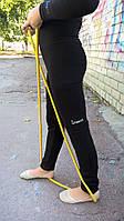 Лосины-гетры чёрные для гимнастики