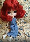 Шарнирная кукла Айси (Блайз), каре огненно красный цвет + 10 пар кистей, одежда и обувь в подарок, фото 7