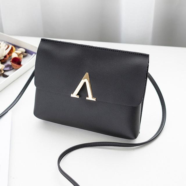Стильный клатч сумка небольшой V023 черная