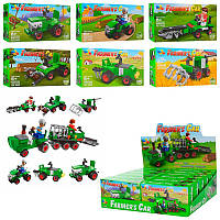 "Конструктор ""Farmers Car"" 82000 2 в 1, 6 видов"