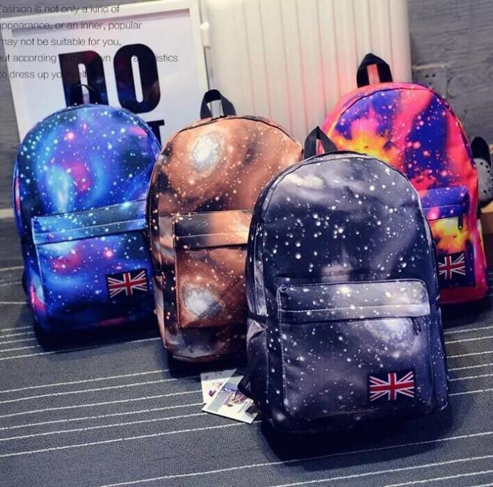 Рюкзак Космос Галактика Школьный и городской стиль, все цвета в наличии, супер качество