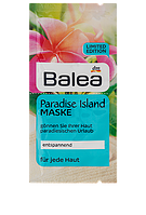"Balea маска для лица ""Райские острова"" Paradise Island Maske 2x8ml"