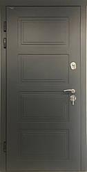 """Входная уличная дверь """"Портала"""" серия Трио RAL ― модель Дублин (Три контура)"""