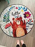 """Безкоштовна доставка! Ігровий килим-мішок """"Ведмедик"""", фото 2"""