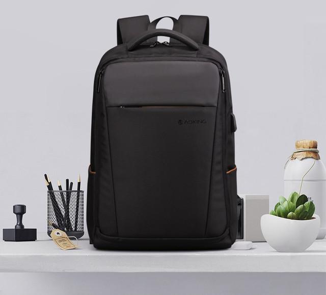 Рюкзак городской для ноутбука Aoking SN78072 черный